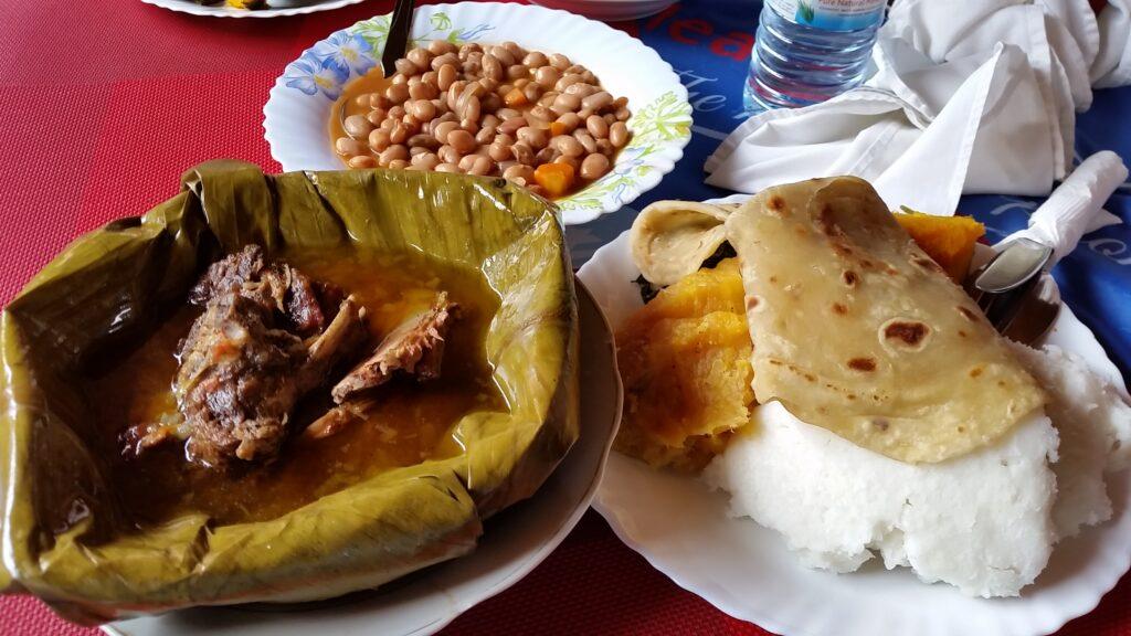 Ugandan traditional meal